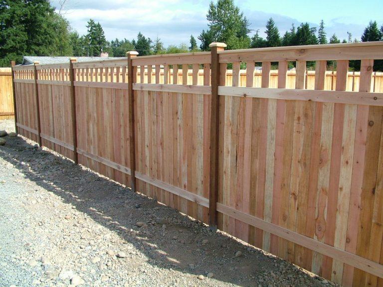 Cedar Wood Privacy Fence Newport Beach CA
