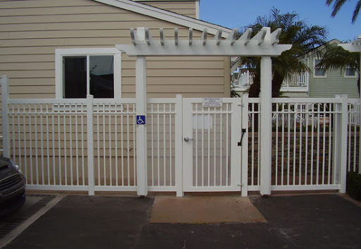 commercial pool fence Newport Beach ca