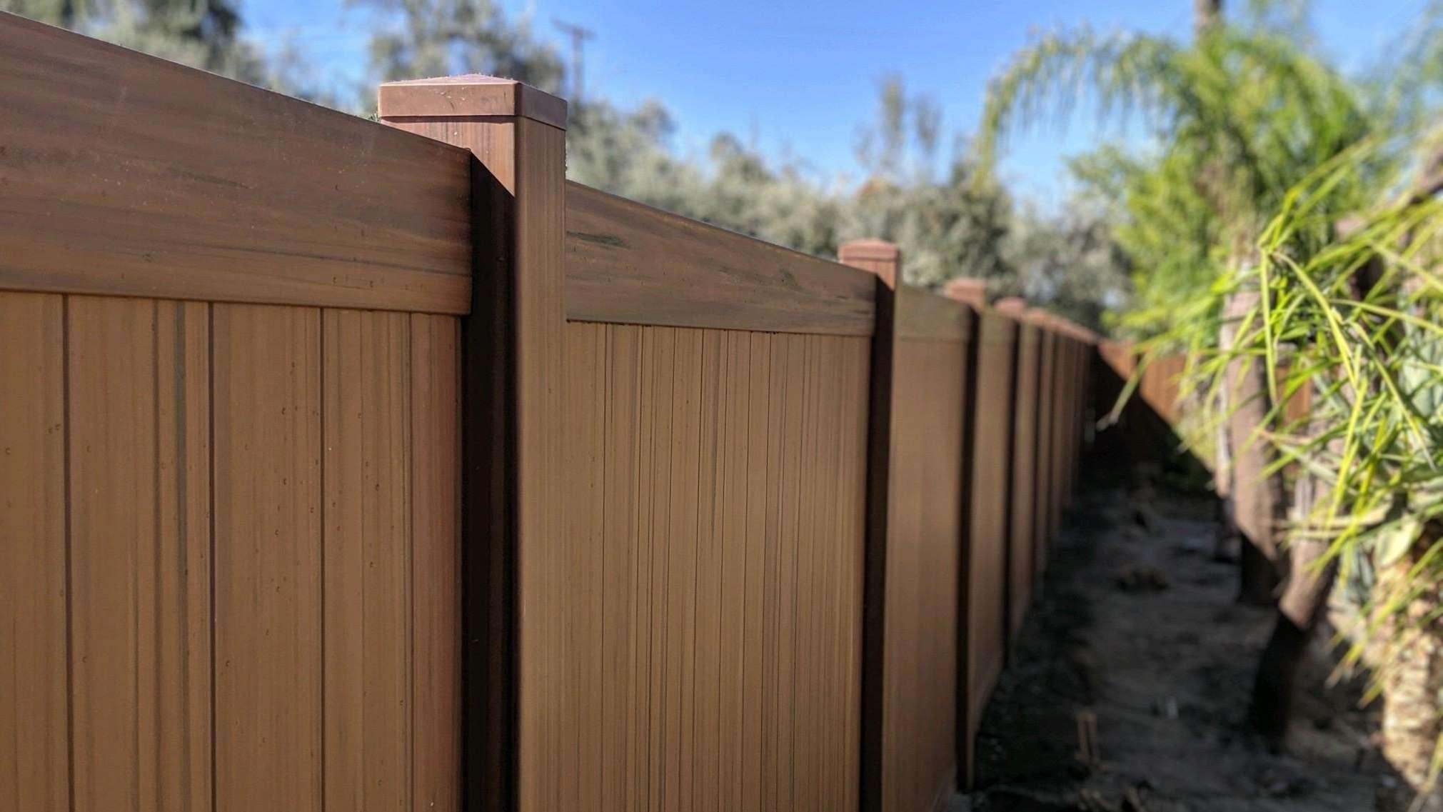trex composite fence Newport Beach ca