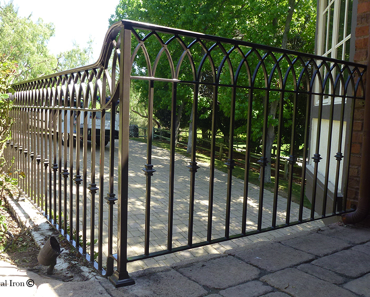 Ornamental Iron Fence Newport Beach CA
